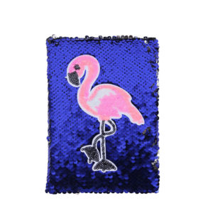 Flamingo-blue-and-silver-glitter-color-changing-notebook