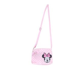 ميني ماوس-الوردي حقيبة يد طويلة حزام