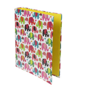 Colorful-elephants-mini-folder