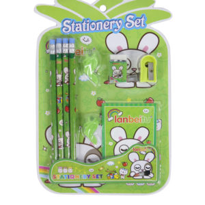 lanbeitu-green-stationery-set