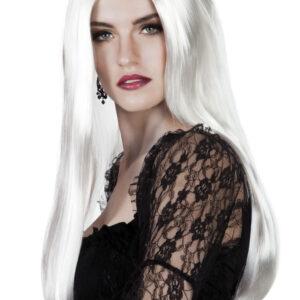 البيضاء الساحرة-شعر مستعار