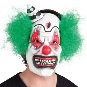 Latex-face-mask-horror-clown