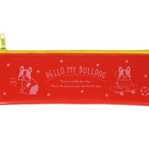 Hello-my-bulldog-red-pencil-case