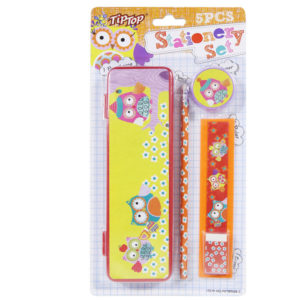 Tiptop-owl-Stationery-set