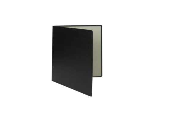 Black - cardboard - folder