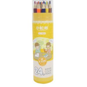 غير سامة 24-لون القلم الأصفر حزمة