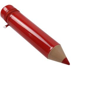 Red-3D-pencil case