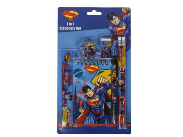 Superman-justice-league-stationery-set