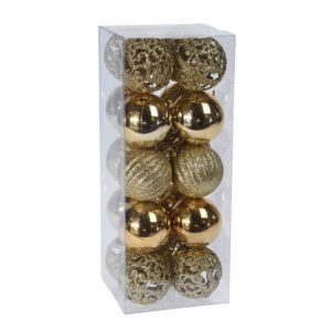 Dark- golden- ornament -set -of- 20 pcs