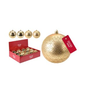 Christmas- Ornament - Golden -design- ball- set