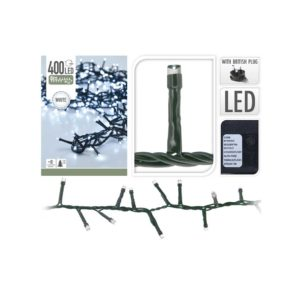 Christmas -white- lights - 400 LED- bulbs
