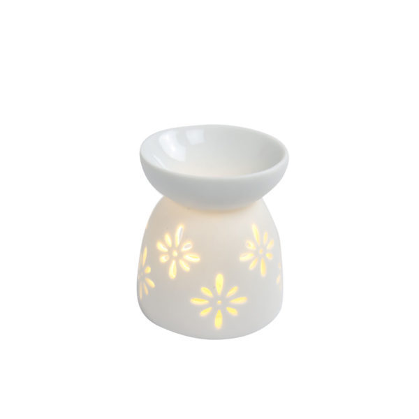 INCENSE-BURNER-WHITE-WITH-FLORAL-DESIGN