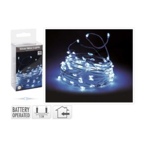 SILVER-WIRE-WHITE-LIGHTS-40-LED-BATTERY-OPERATED