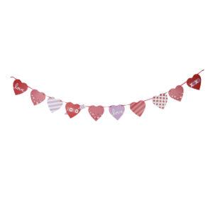 Daiso-valentines-heart-banner