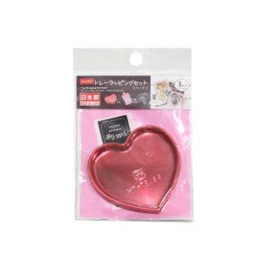 DAISO-الأحبة القلب صينية التفاف-مجموعة