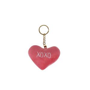 سلاسل المفاتيح-بالجمله الوردي-القلب المفاتيح