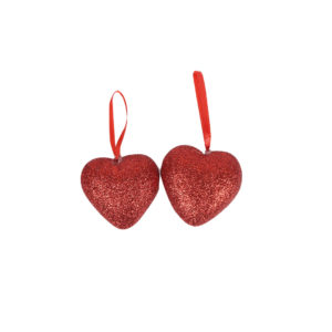 valentine-hanging-glittery-hearts