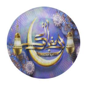 Ramadan-Dinnerware-purple-disposable-plate