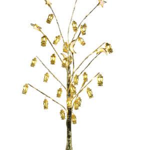 Ramadan-Lantern-golden-tree