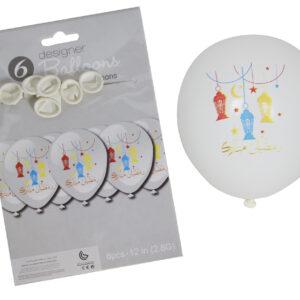 Ramadan-White-Ramadan-Kareem-lantern-Balloons
