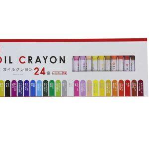 24 قلم تلوين بالزيت
