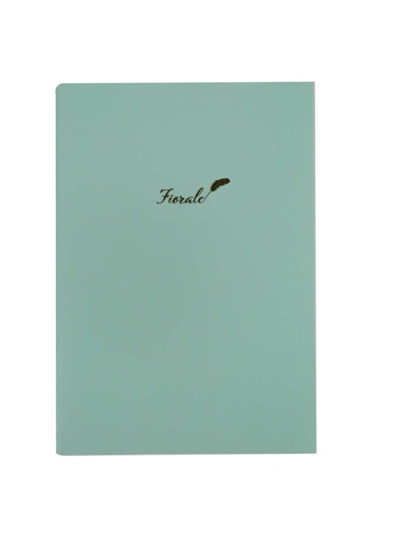 Fiorale Green Notebook