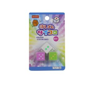 Eraser Color Dice