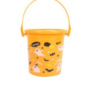 Orange Trick or Treat Bucket