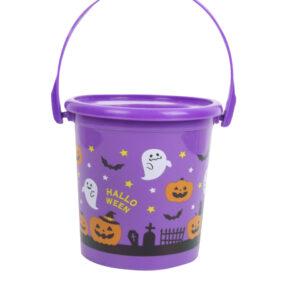 Purple Trick or Treat Bucket