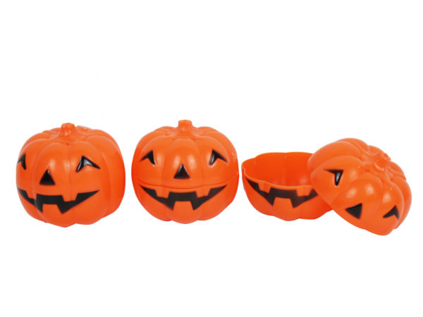 Jack-o-lantern Plastic Containers