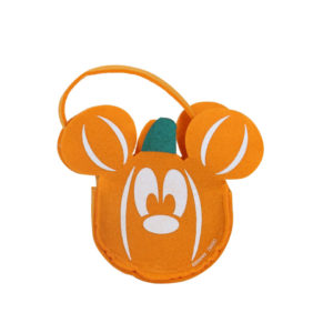 Micky Mouse Pumpkin Felt Bag