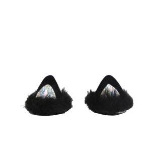 Black Cat Ears Hair Pins