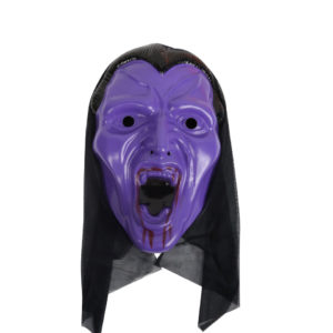 Purple Vampire Face Mask
