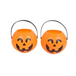 Small Jack-o-lantern Bucket