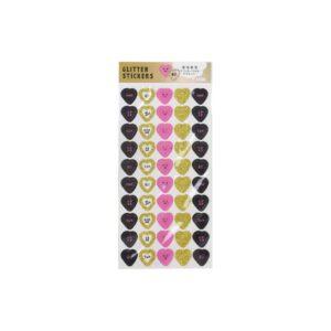Heart-Glitter-Stickers