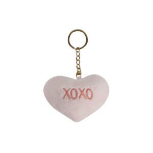 XOXO-Heart-Keychain