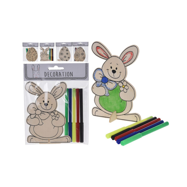 Daiso-Easter-Color-on-wood