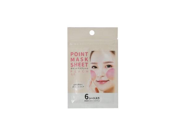 Peach-Point-Mask-Sheet