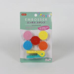 مجموعة مزخرف ملونة ثلاثية الأبعاد