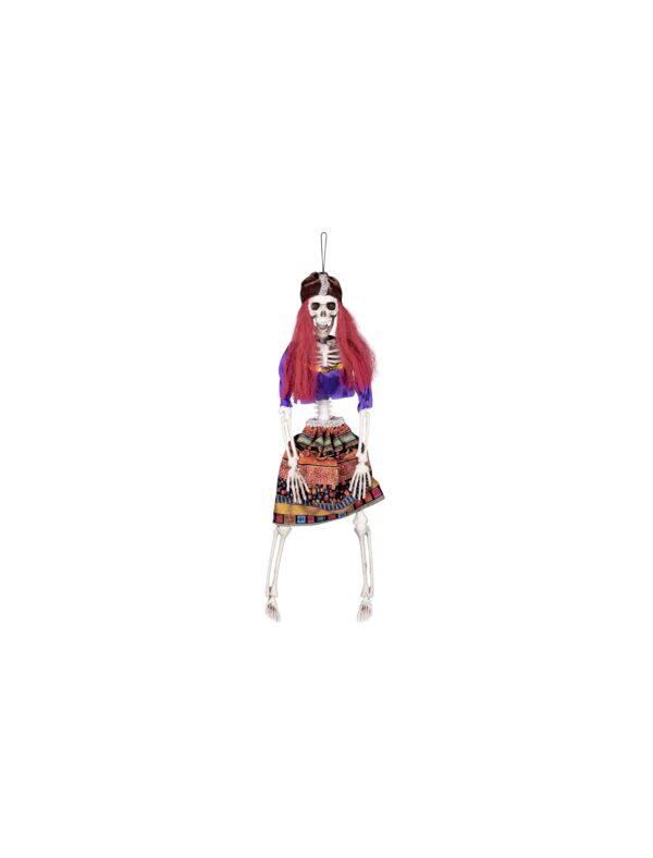 Skeleton-Gypsy-Hanging-Decoration