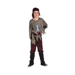 زي الطفل الزومبي القراصنة